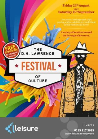 D.H. Lawrence Festival of Culture Cover