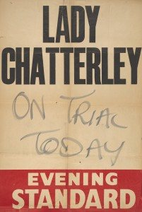 Lady Chatterley On Trail Today Newspaper Headline