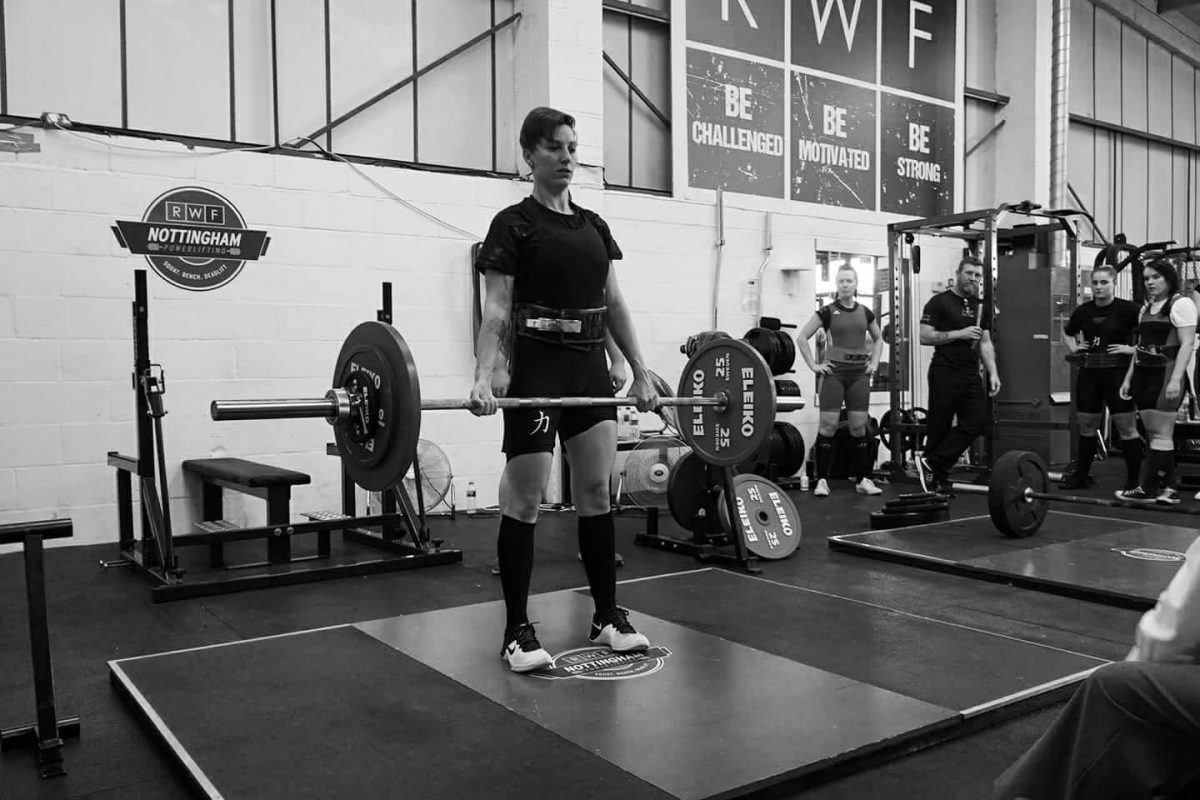 Lifting more than her body weight…Nicola's first Powerlifting competition