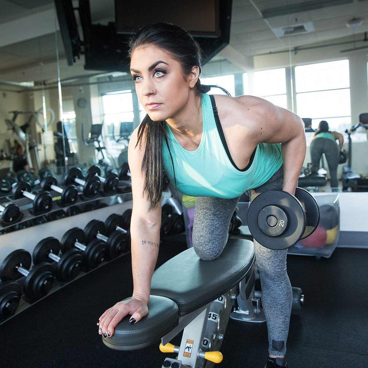 Lift like a girl: myths of weight lifting