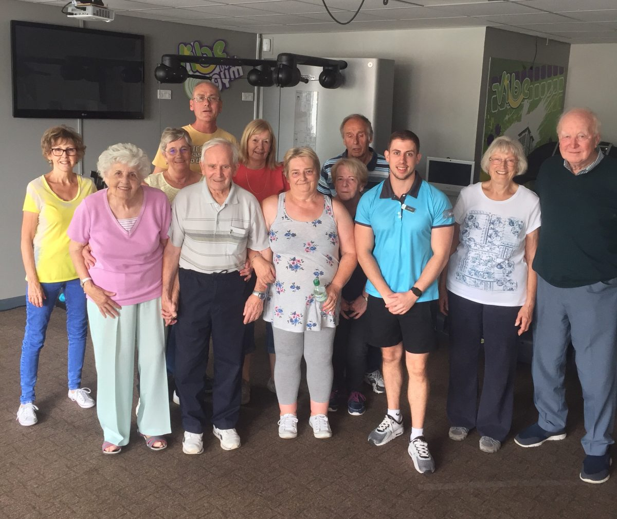 Kimberley Leisure Centre partnership with dementia group