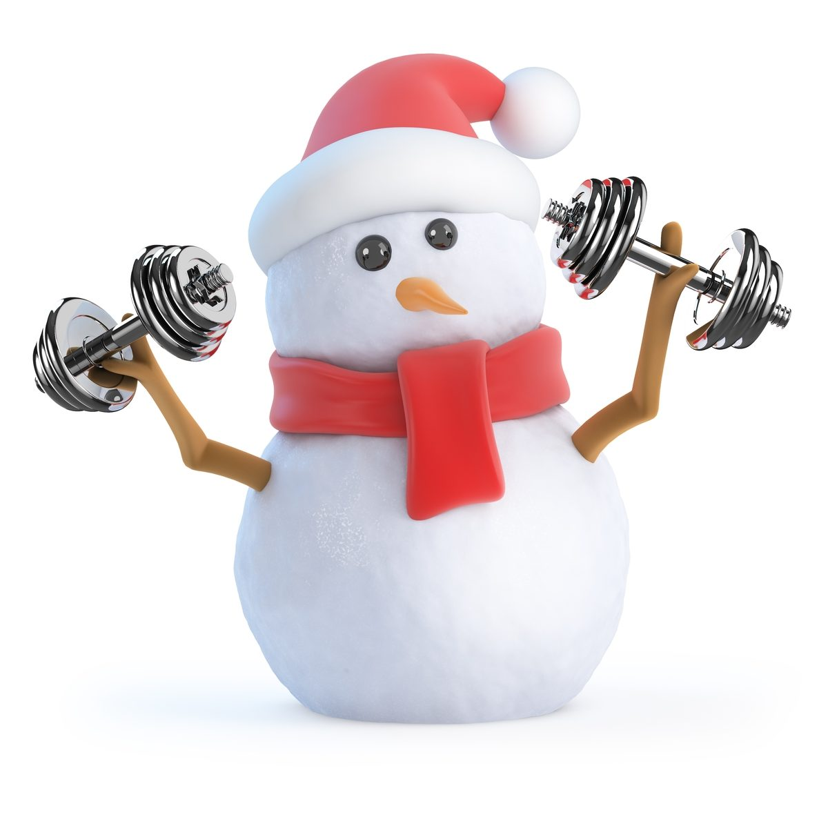 Keep fit not fat this Christmas