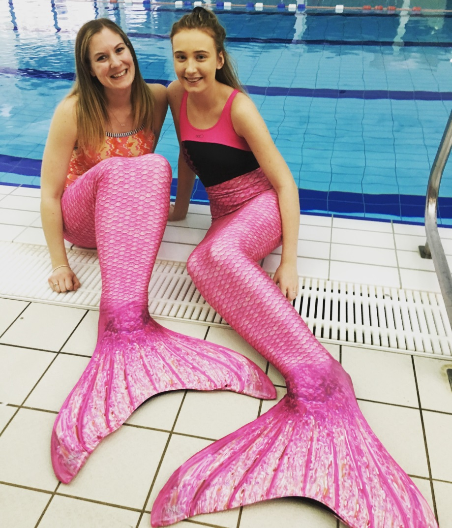 Turn your feet into fins for a Mermaid experience @ Kimberley Leisure Centre