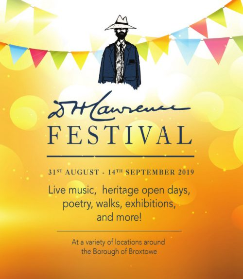 D.H. Lawrence Festival 2019 cover image