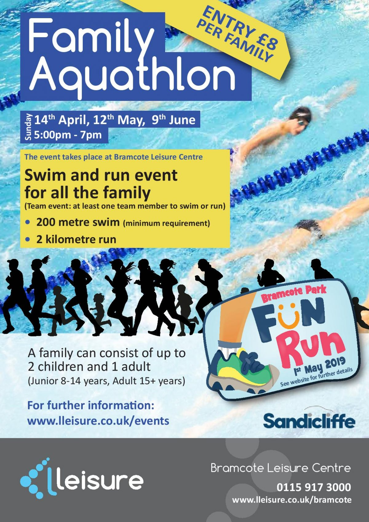 What to expect from a Family Aquathlon