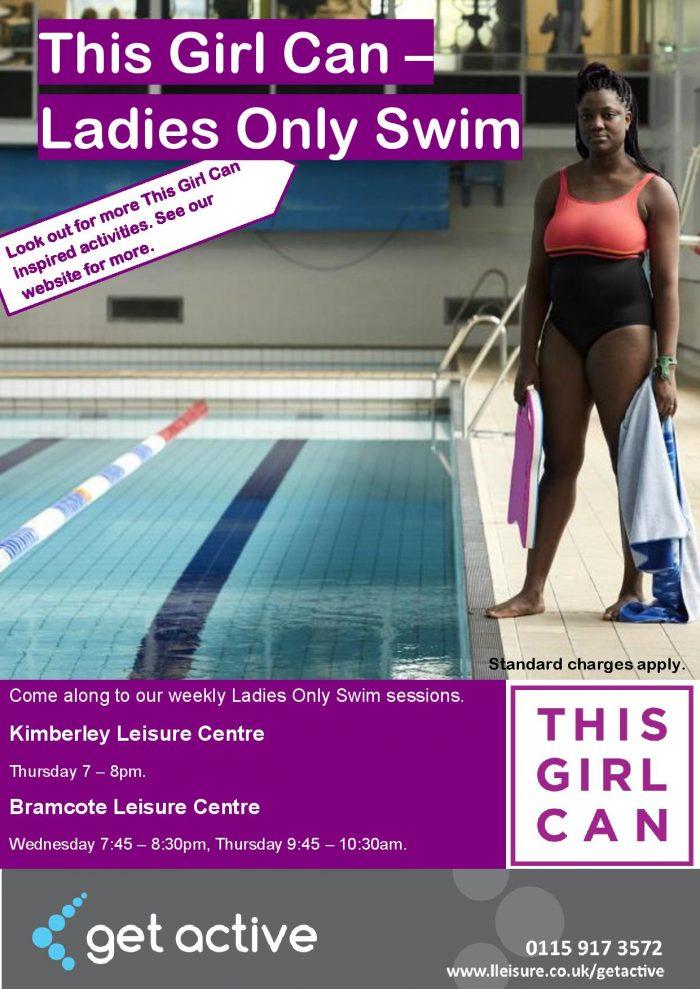 This Girl Can Swim – Ladies Only Swim