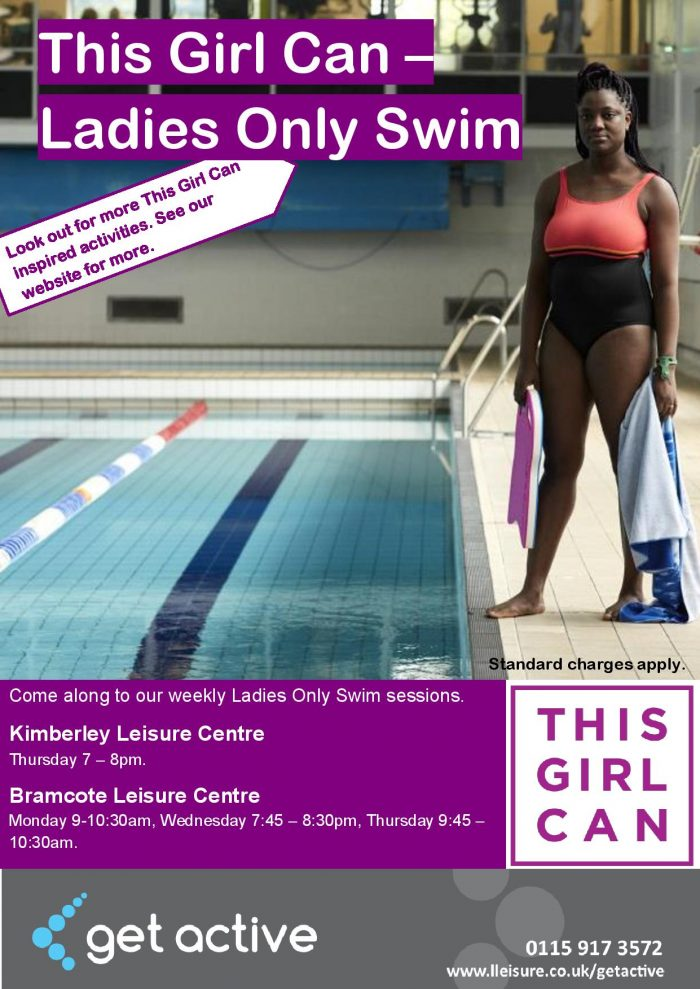 This Girl Can Swim – Ladies Only Swim