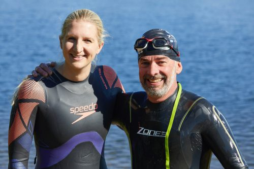Rebecca Adlington open water swimming