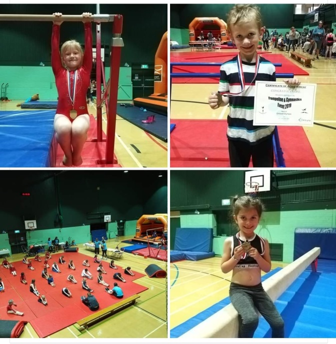 Trampoline and Gymnastics event @ Chilwell Olympia