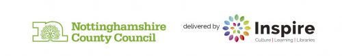 Nottinghamshire CC and Inspire Libraries Banner
