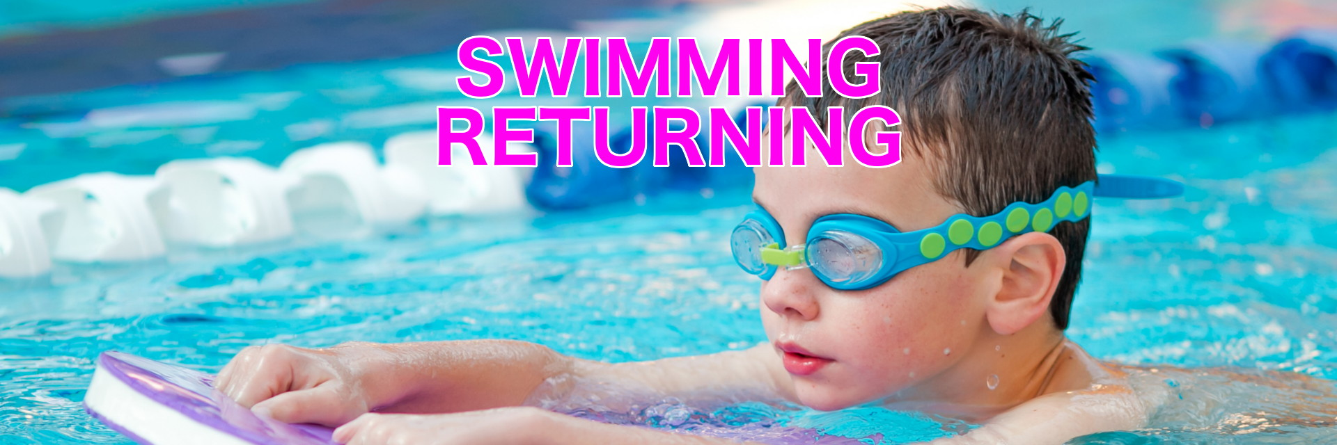 Swimming returning